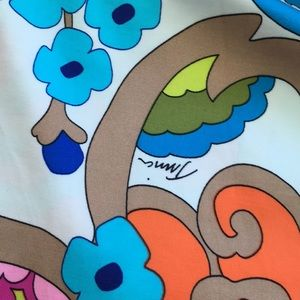 Trina Turk Swim - Trina Turk Flower Printed Swim Cover Up